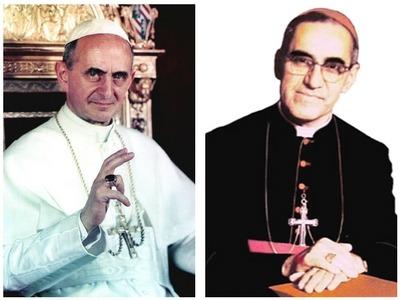 Beatos Mons. Arnulfo Romero y Pablo VI