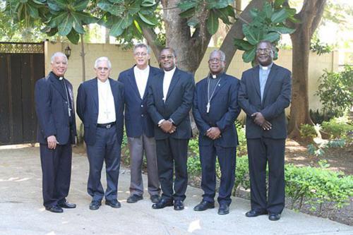Obispos dominicanos de las diócesis fronterizas de Rep. Dom. y Haití