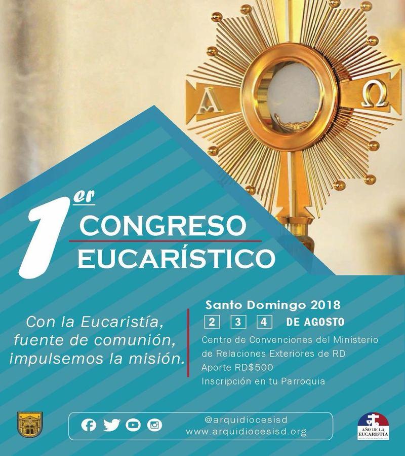 primer congreso eucarístico 2018