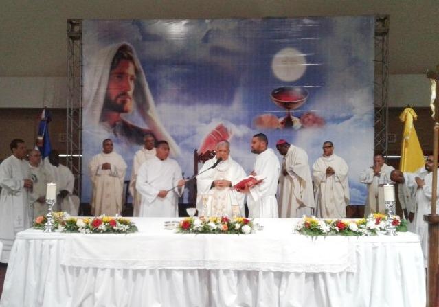 Congreso Eucarístico en torno a la celebración de los 525 años de la primera eucaristía celebrada en América, del 2 al 4 de agosto.