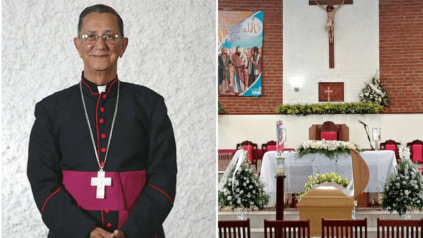 Restos de Monseñor Fabio Mamerto Rivas Santos.
