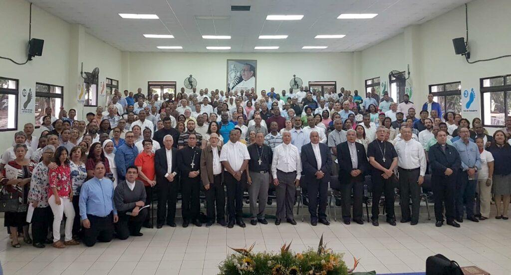 Participantes del XXXVI Encuentro Nacional de Pastoral