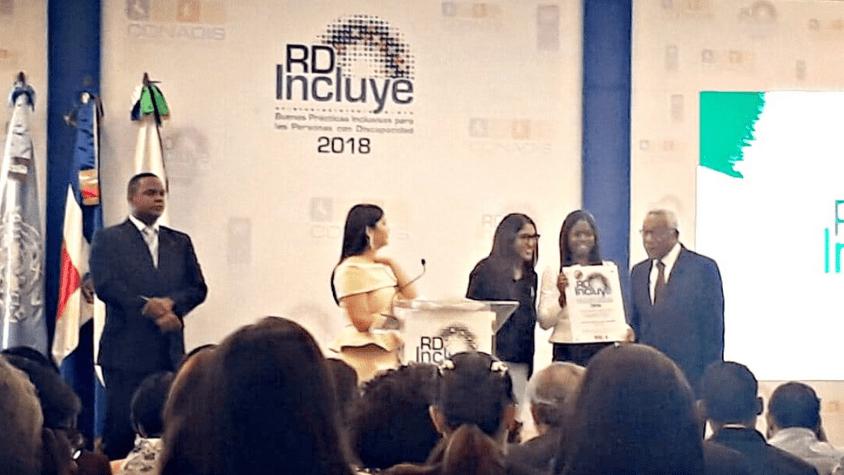 Pastoral Materno Infantil recibe el Sello RD Incluye