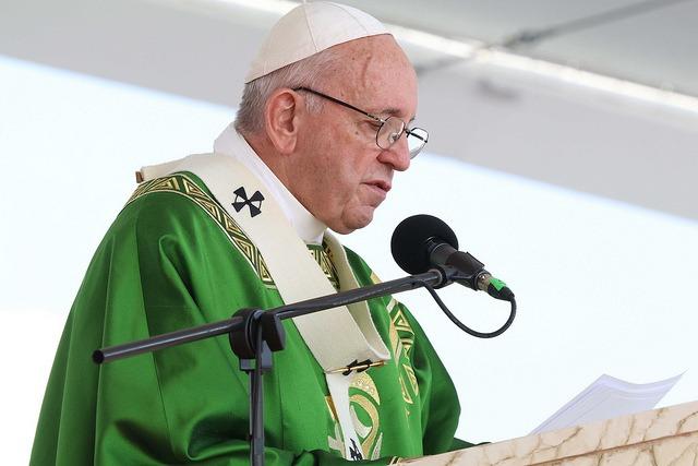 Papa Francisco en la misa de clausura de la JMJ 2019