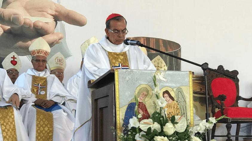 Cardenal Rosa Chávez en