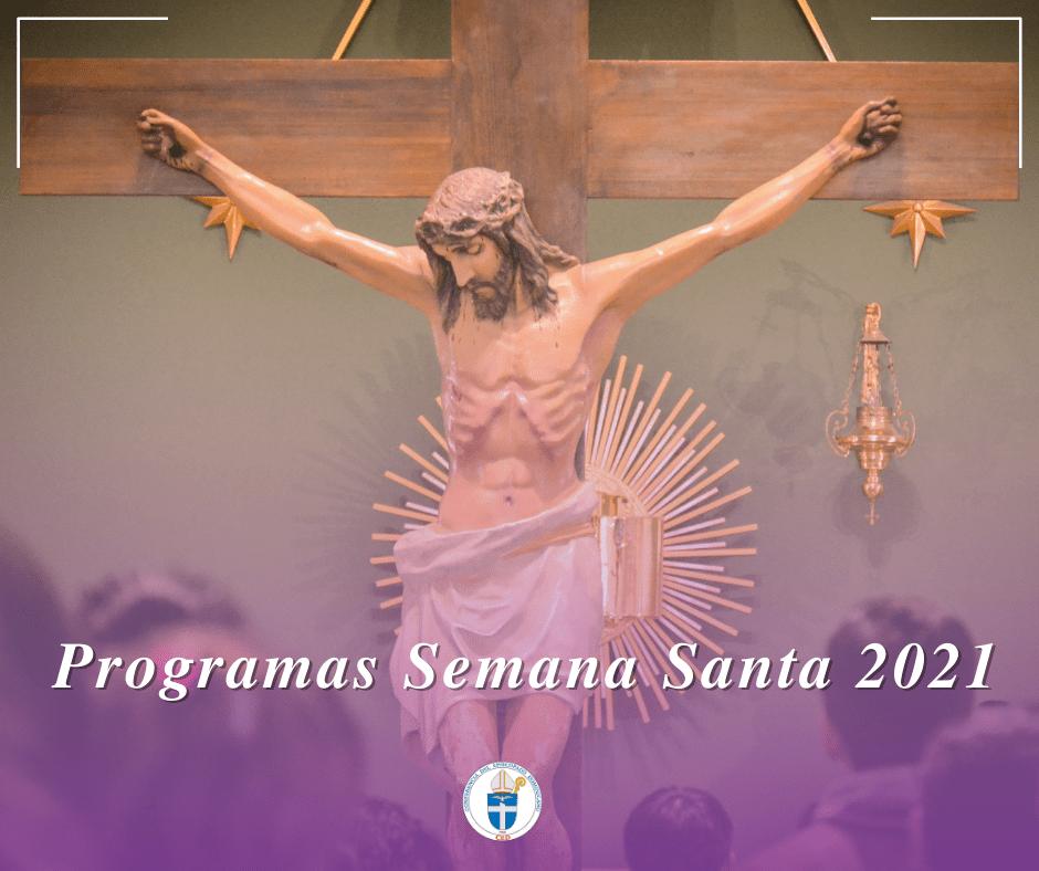 programa semana santa 2021 rd