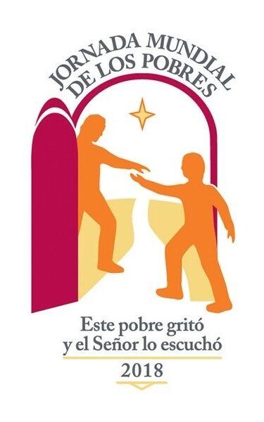 Logo de la jornada mundial de los pobres