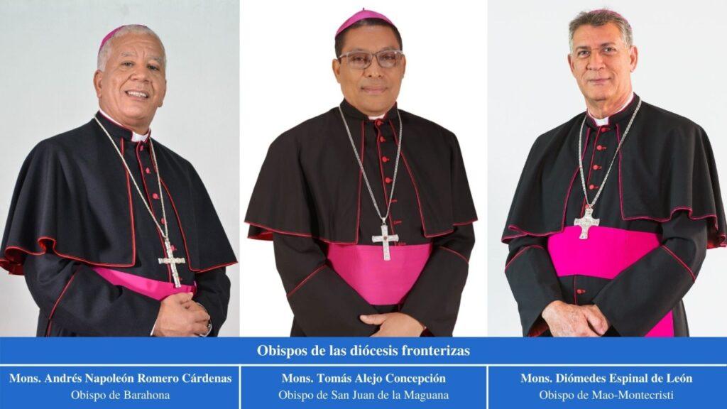 obispos de las diócesis fronterizas